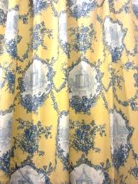 Blue And Yellow Shower Curtains Blue And Yellow Curtains Teawing Co