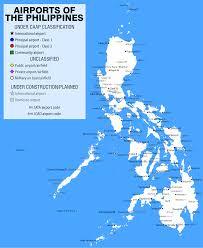 Phillipines Map Getting Around The Philippines Gap Year