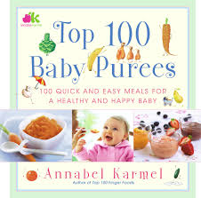 top 100 baby purees book by annabel karmel official publisher