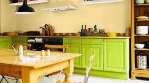 cuisine jaune et verte univers cuisine verte et jaune