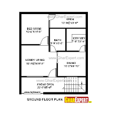 house plan for 25 feet by 30 feet plot plot size 83 square yards
