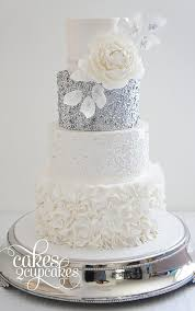 silver wedding cakes silver wedding cake decorations wedding ideas by colour chwv