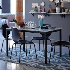 box frame dining table wood west elm