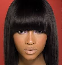 sew in weaves with bangs pros and cons of a sew in weave as a protective or transition style