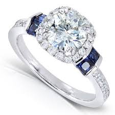engagement rings that look real moissanite engagement rings that look real