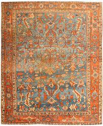 Large Orange Rug Antiques Com Classifieds Antiques Antique Rugs For Sale