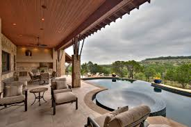 Faux Stone Patio by Exterior Design Tub Ideas And Faux Stone Wall In