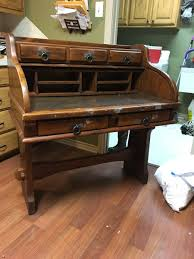jefferson roll top desk hello i recently purchased a link taylor rawhide roll top desk at a