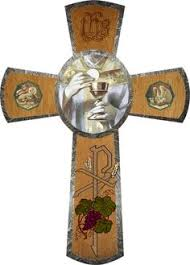catholic gifts and more communion chalice wall cross communion