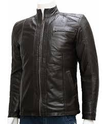 Cowhide Leather Vest Men U0027s Leather Moto Jackets Leather Jacket Showroom
