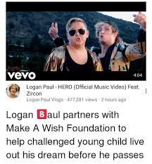 Music Video Meme - yeyo 404 logan paul hero official music video feat zircon logan paul
