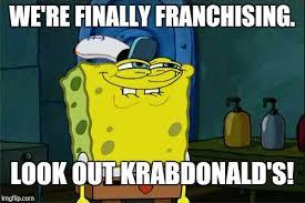 spongebob future regional manager imgflip