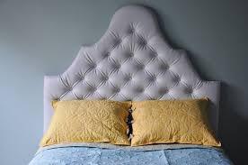 Tufted Headboards Diy Bedroom Alluring Made Diamond Tufted Headboard Living With