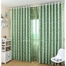 green curtain panels mermaid rod pocket window curtain panel