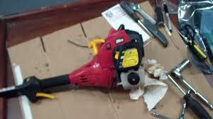 homelite weed trimmer repair tutorial part 1 youtube
