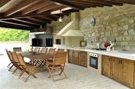 construire sa cuisine d été cuisine d ete en bois cuisine en en dun four a pizza cuisine dete