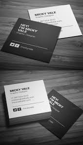 Simple Business Cards Templates Best 25 Square Business Cards Ideas On Pinterest Business Cards