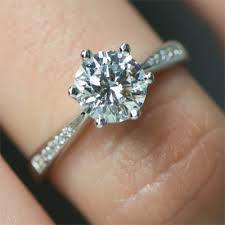 2ct engagement rings 2 carat diamond rings brillianteers