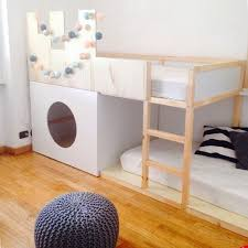 Best IKEA HACK KURA Bett Images On Pinterest Ikea Kura Bed - Ikea bunk bed room ideas