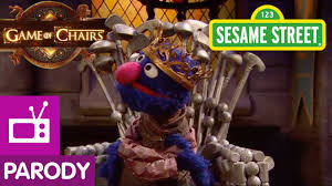 Chair Game Of Thrones Sesame Street Game Of Chairs Game Of Thrones Parody Youtube