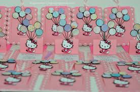 Hello Kitty Invitation Card Maker Free Hello Kitty Slide Up Slider Card Balloon Birthday Invitations