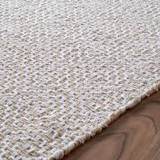 White Cotton Rug Cotton Flat Weave Rugs Rug Designs