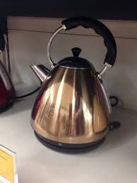 sainsburys copper kettle kitchen accessories pinterest