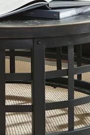 ashley marimon coffee table signature design by ashley marimon industrial style round cocktail