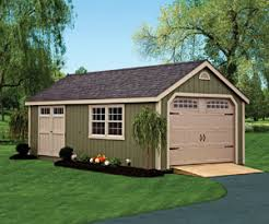 Detached Garage Pictures by Custom Sheds Garages U0026 Pet Structures Green Acres Outdoor Living