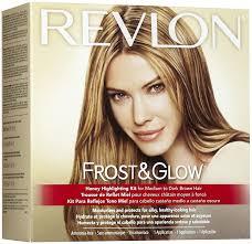 frosting hair revlon frost glow highlighting kit medium to dark brown hair