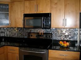creative art stainless steel backsplash lowes lowes kitchen