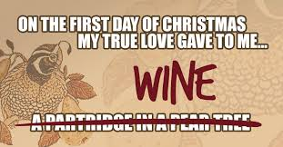 12 days christmas for wine people just wine