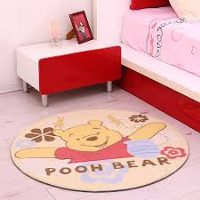 Mickey Mouse Rugs Carpets Cartoon Carpet 90x90cm Mat Hello Kity Mickey Mouse Pooh Bear Rug