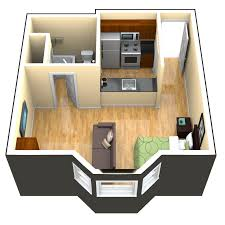 Studio Apartment Floor Plan by Topnotch Studio Apartment Floor Plans Exposing Divine Bed And
