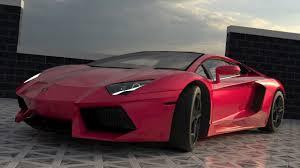 Lamborghini Aventador Black And Red - lamborghini aventador lp700 3d cgtrader