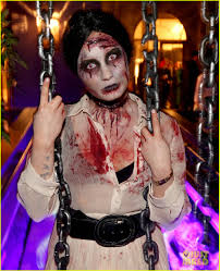 demi lovato dead zombie halloween costume photo 2984113 2013