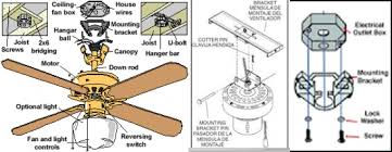 Ceiling Fan Parts Blades Blade Arms Capacitors More Intended For