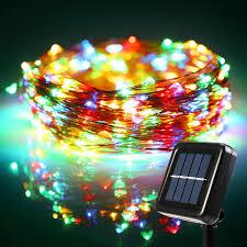 Solar Power Led Christmas Lights 72ft Led Rgby Starry String Lights Torchstar