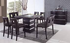 Contemporary Dining Set by Global Furniture Usa G072 Counter Height Dining Set Brown Gf