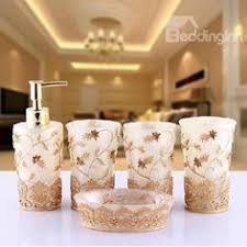 5 Piece Bathroom Set by Romantic Creative Pink Butterfly Shaped 5 Pieces Bathroom