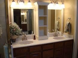 contemporary bathroom design with decorative wall mirror large