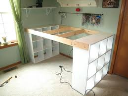 build a craft table craft desk ideas diy craft table ideas younited co
