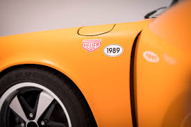 orange porsche targa porsche 964 3 6 targa rhd 1990 g hexagon