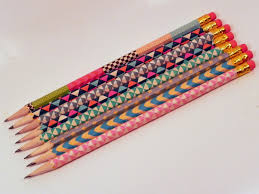 smart n snazzy back to diy washi tape pencils