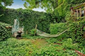 Hammock Backyard This Five Bedroom Duplex Has A Lush Backyard Hammock Curbed Ny
