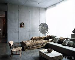 Glamorous Interior Designs With Concrete Walls - Concrete walls design