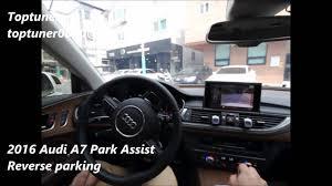 audi a7 parking audi 2016 a7 facelift park assist retrofit