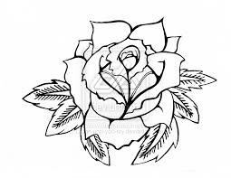 rose tattoos traditional rose tattoos designs outline