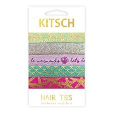 kitsch hair ties kitsch sea vibes hair tie set 5 count beauty