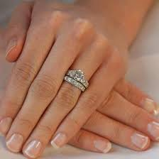 wedding ring set for s fancy faux cz wedding ring set jewelry box